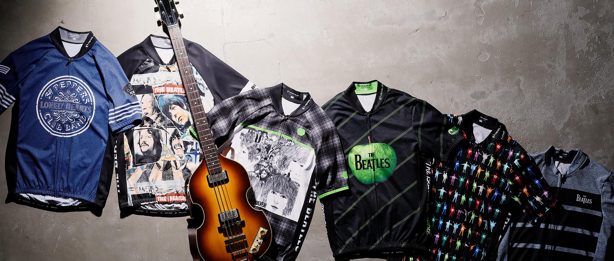 ビートルズ来日50周年記念 プリントサイクルジャージ
